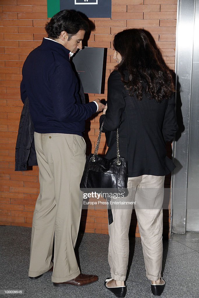 Miguel Baez And Carolina Adriana Herrera Sighting In Madrid - May 20, 2010