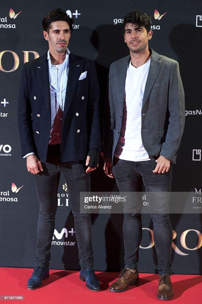 'Oro' Madrid Premiere