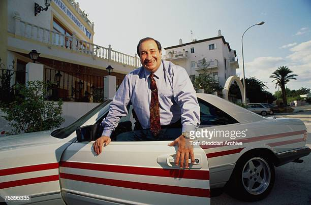Spanish businessman and politician Jesus Gregorio Gil y Gil Mayor of Marbella and president of the Atletico Madrid Football Club 1993