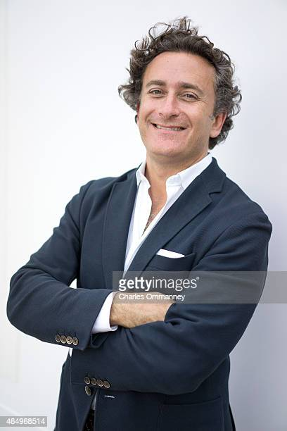 Spanish businessman and sponsor of Formula E racing cars Alejandro Agag is photographed for Bilanz Magazine on October 20 in Miami Florida Pictured...