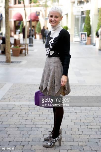 Spanish businesswoman Carla Royo Villanova attends a photo session on November 17 2009 in Madrid Spain