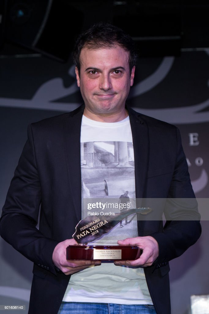 Spanish chef David Garcia attends the 'Pata Negra' awards at the Corral de la Moreria club on February 20, 2018 in Madrid, Spain.