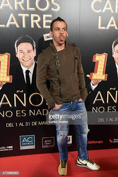 Spanish chef David Munoz attends '15 Anos no es Nada' premiere at the Compac theater on May 6 2015 in Madrid Spain