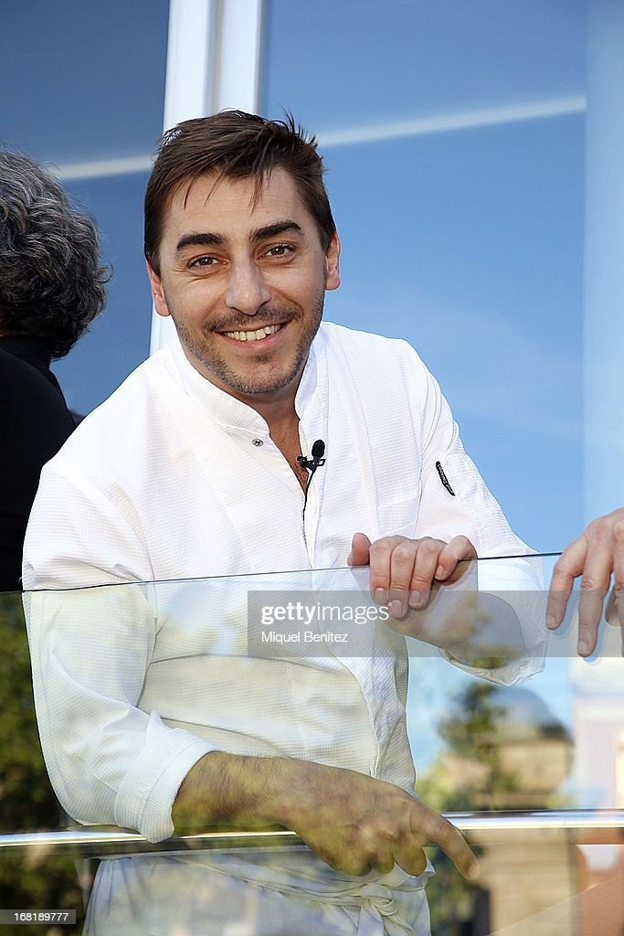 Spanish chefs of 'El Celler de Can Roca' Jordi Roca attend 'El Somni', 'The Dream' Gastronimic Opera Performance on May 6, 2013 in Barcelona, Spain.
