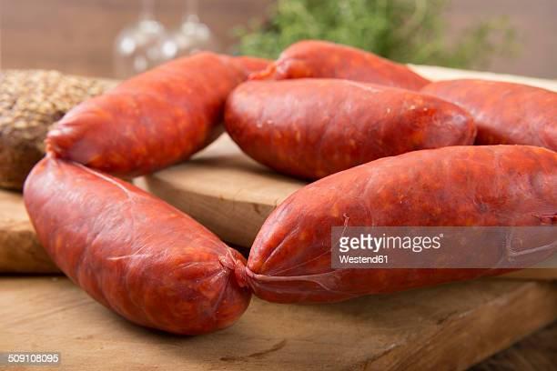 Spanish Chorizo sausages