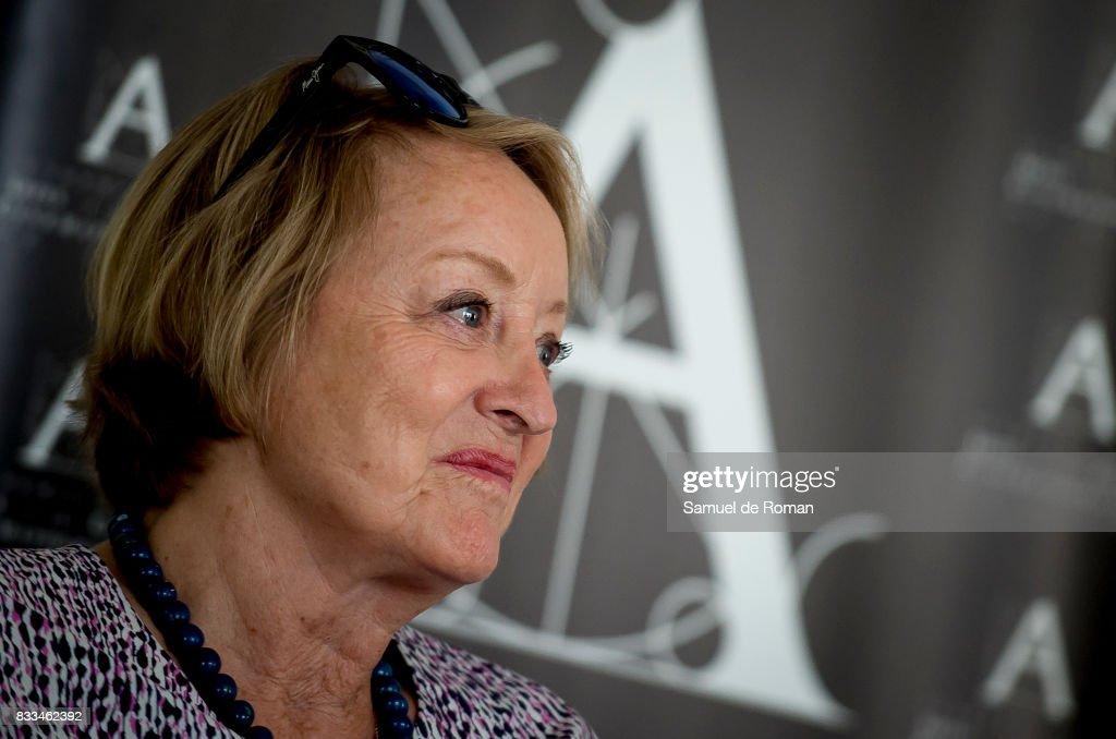 Spanish Cinema Academy President Yvonne Blake during Spanish Cinema Academy Announces Pre Selection For Oscar Awards on August 17, 2017 in Madrid, Spain.