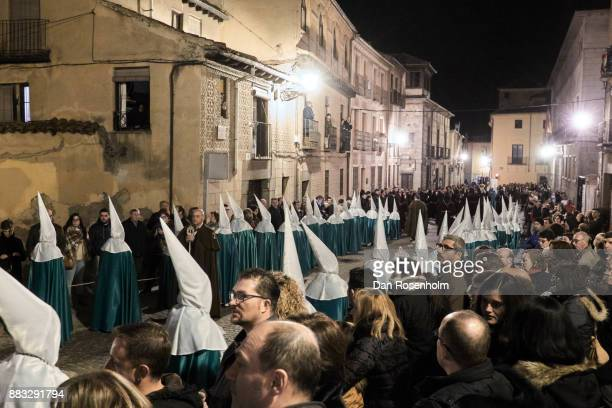 Spanish Cities, Easter procession in Segovia