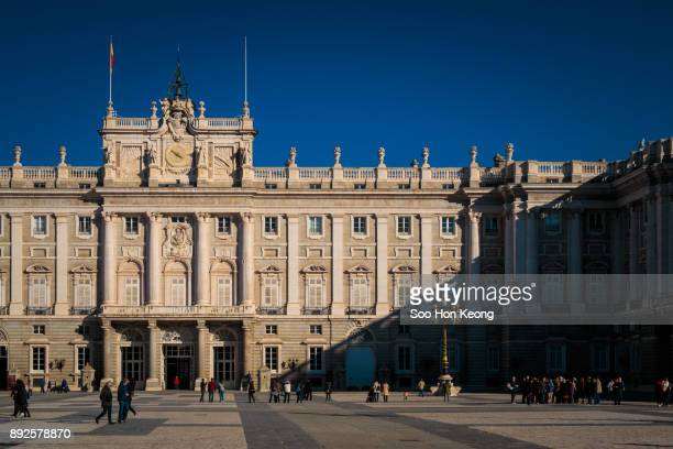 Spanish Cities - Madrid - Royal Palace of Madrid