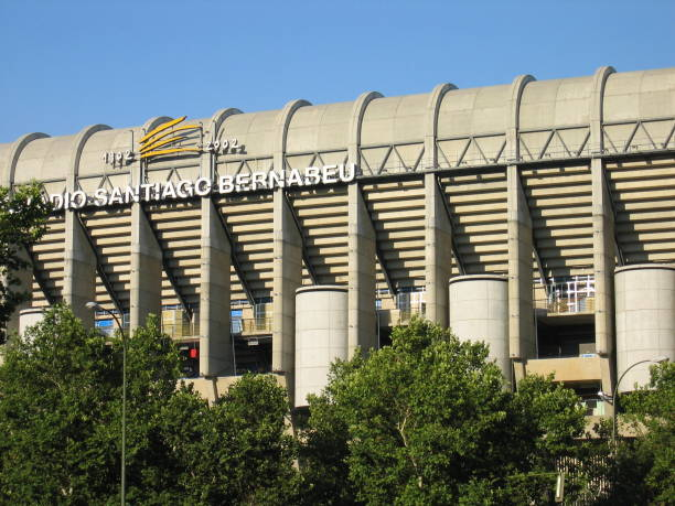 Spanish Cities - Madrid - Santiago Bernabeu Stadium