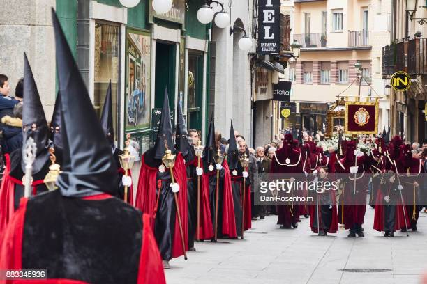 Spanish Cities, procession in Segovia at Easter