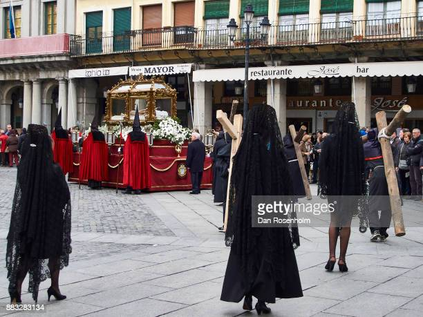 Spanish Cities, Procession in Segovia at Easter time