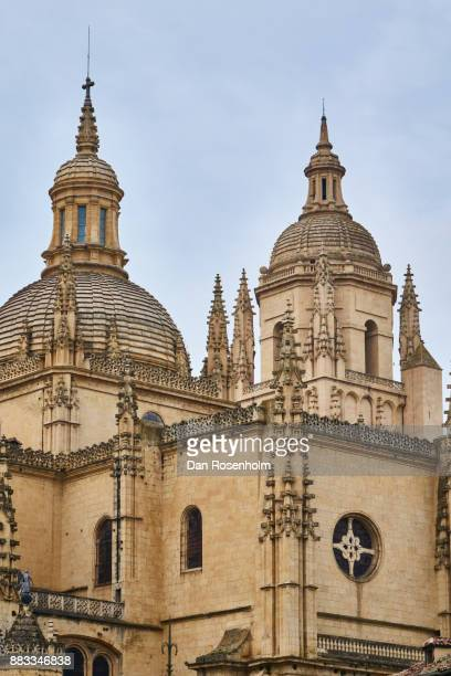 Spanish Cities, spires of the Segovia cathedral