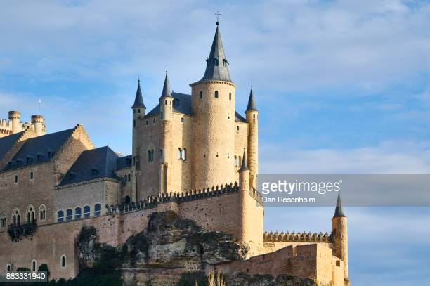Spanish Cities, the towers of Alcázar of Segovia