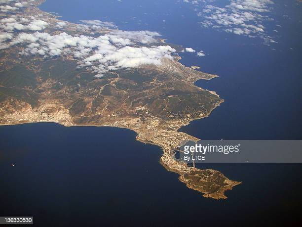 Spanish city of Ceuta in northern Africa