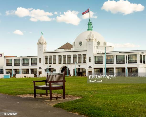 spanish city - whitley bay seafront - whitley bay stock pictures, royalty-free photos & images