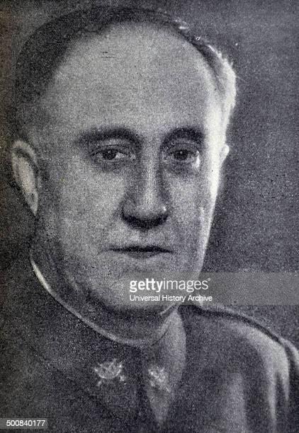 Spanish Civil War Brigadier General Don Eliseo Alvarez Romero Arenas Captain General of the Catalonia Region 1939