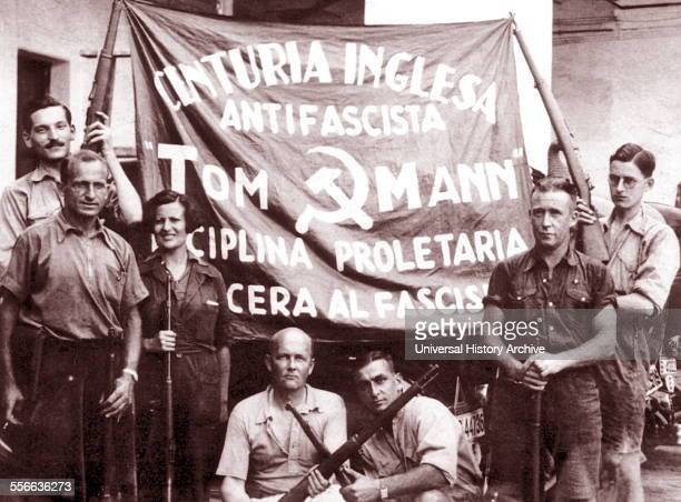 Spanish Civil War British Volunteers in the International Brigade 1937