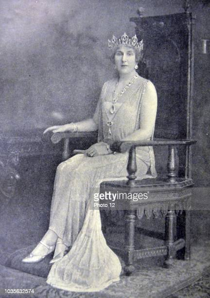 Victoria Eugenie of Battenberg 24 October 188715 April 1969 Queen of Spain as the wife of King Alfonso XIII