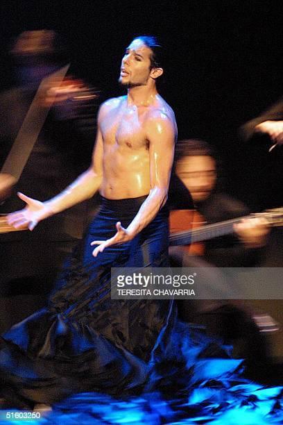 WITH JOAQUIN CORTES EMBRUJO A COSTA RICA CON LA MAGIA DE SU BAILE FLAMENCO BY LORNA CHACON Spanish dancer Joaquin Cortes presents his show Live 09...