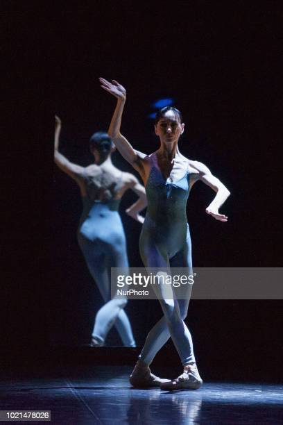 Spanish dancer Lucia Lacarra during the performance 30 Years of Dance Víctor Ullate Ballet in the theaters of the Canal de Madrid Spain August 22 2018