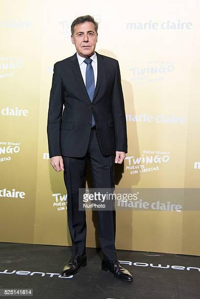 Spanish designer Angel Schlesser attends the Marie Claire Prix de la Moda 2015 at the Callao cinema on November 19 2015 in Madrid Spain