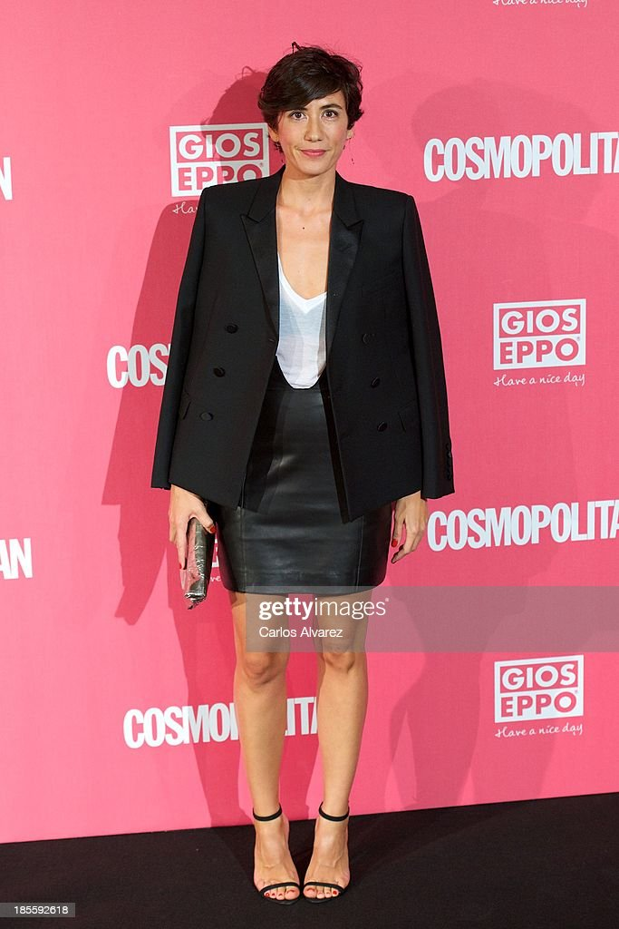 Spanish designer Carmen March attends the Cosmopolitan Fun Fearless Female Awards 2013 at the Ritz Hotel on October 22, 2013 in Madrid, Spain.