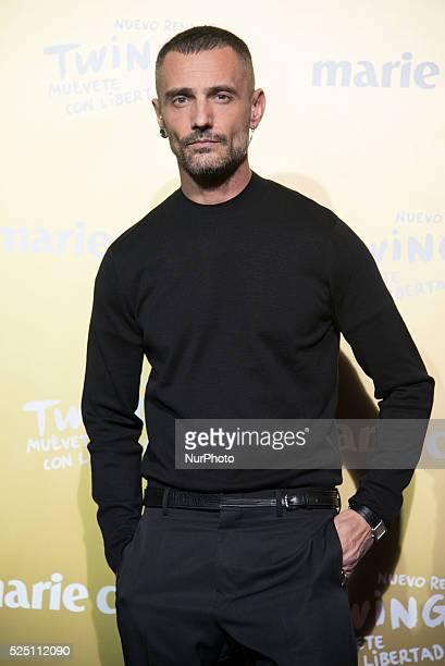 Spanish designer David Delfin attends the Marie Claire Prix de la Moda 2015 at the Callao cinema on November 19 2015 in Madrid Spain