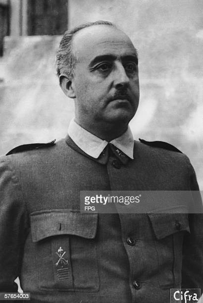 Spanish dictator Generalisimo Francisco Franco circa 1937
