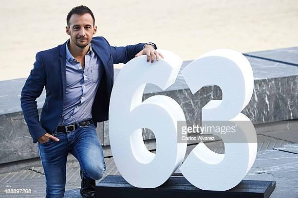 Spanish director Alejandro Amenabar attends 'Regresion' photocall during the 63rd San Sebastian International Film Festival on September 18 2015 in...