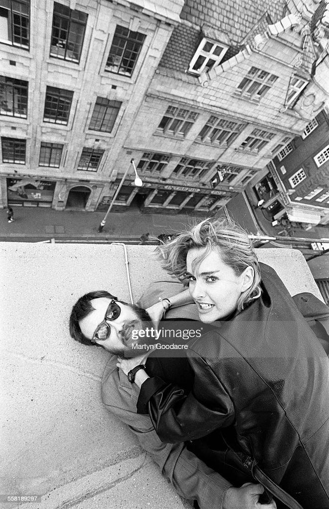 Alex De La Iglesia And Frederique Feder 1993 : News Photo