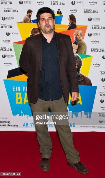 Spanish director Cesc Gay attends the premier of his movie 'Una pistola en cada mano' at MetropolKino in StuttgartGermany 26June 2013 The film...