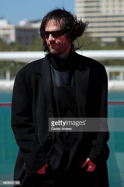 Spanish director David Menkes attends the Por un Punado de Besos photocall during the 17th Malaga Film Festival 2014 Day 6 on March 26 2014 in Malaga...