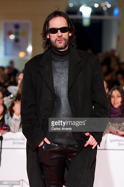 Spanish director David Menkes attends the Por un Punado de Besos premiere during the 17th Malaga Film Festival 2014 Day 6 at the Cervantes Theater on...