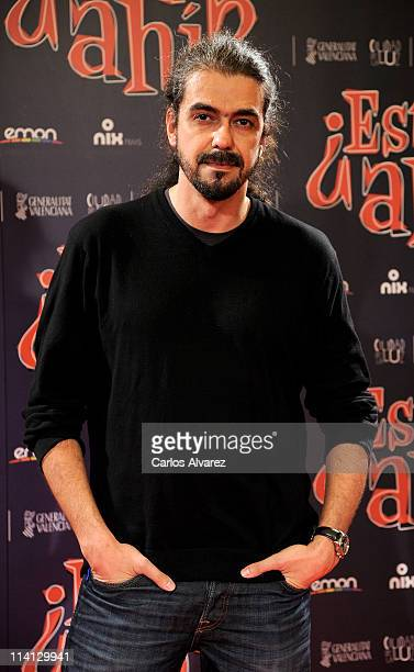 Spanish director Fernando Leon de Aranoa attends Estas Ahi premiere at Palafox cinema on May 12 2011 in Madrid Spain