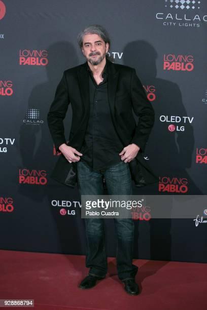 Spanish director Fernando Leon de Aranoa attends the 'Loving Pablo' premiere at Callao Cinema on March 7 2018 in Madrid Spain