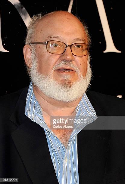 Spanish director Jose Luis Cuerda attends 'Agora' premiere at Kinepolis Cinema on October 6 2009 in Madrid Spain