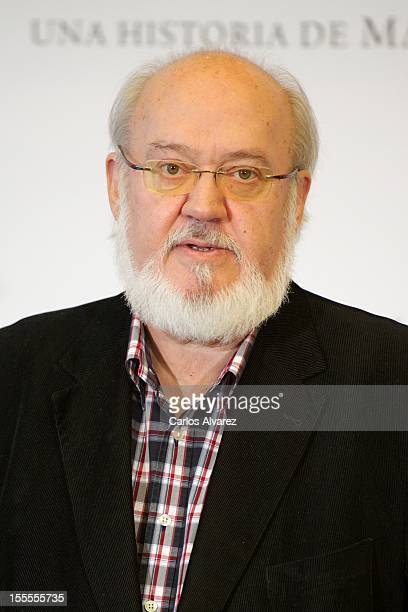 Spanish director Jose Luis Cuerda attends the Todo es Silencio photocall at the Palafox cinema on November 5 2012 in Madrid Spain