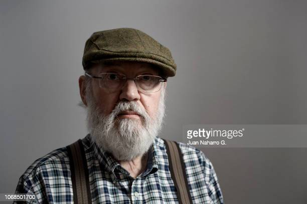 Spanish director Jose Luis Cuerda poses during a portrait session during 15rd Seville European Film Festival at Hesperia Hotel on November 16 2018 in...