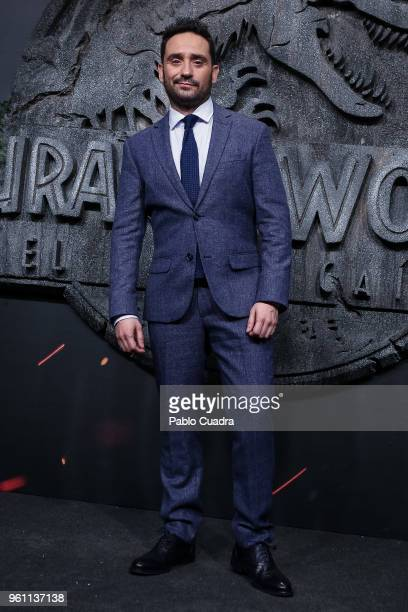 Spanish director Juan Antonio Bayona attends the 'Jurassic World Fallen Kindom' premiere at WiZink Center on May 21 2018 in Madrid Spain