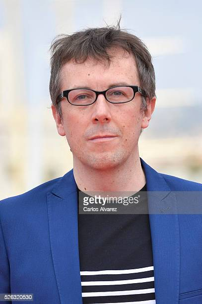 Spanish director Miguel Angel Lamata attends Nuestros Amantes photocall during the 19th Malaga Film Festival on April 30 2016 in Malaga Spain