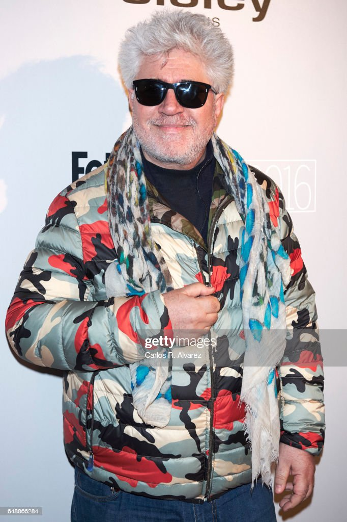 Spanish director Pedro Almodovar attends the Fotogramas Magazine cinema awards 2017 at the Joy Eslava Club on March 6, 2017 in Madrid, Spain.