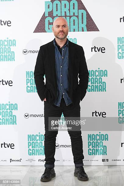 Spanish director Vicente Villanueva attends Nacidas Para Ganar photocall at the Eurobuilding Hotel on May 04 2016 in Madrid Spain