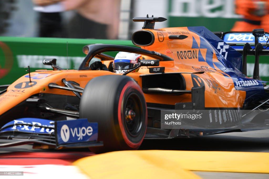 F1 Monaco GP - Qualifying : News Photo