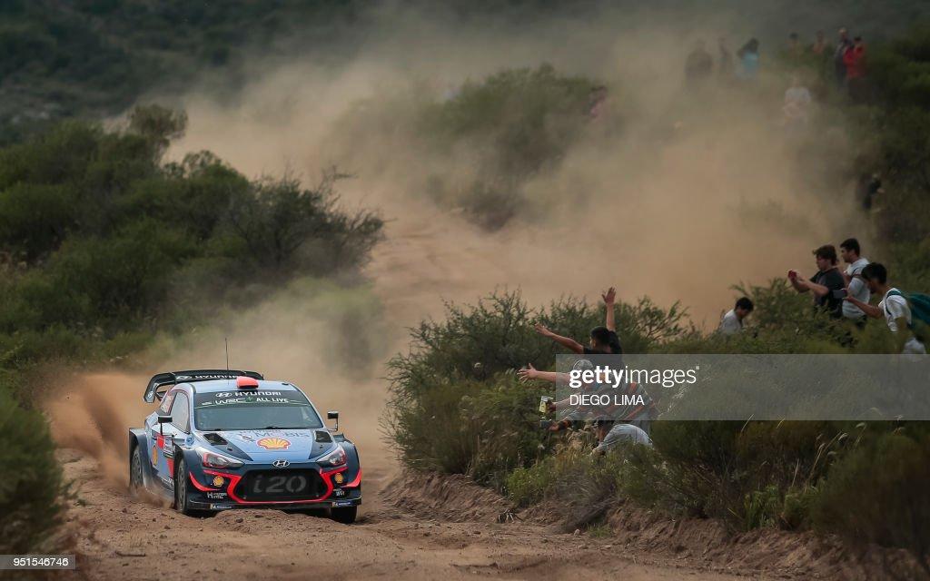 TOPSHOT-AUTO-RALLY-WRC-ARGENTINA : News Photo