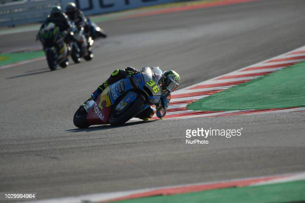 36 Spanish driver Joan Mir of Team EG 00 Marc VDS driving during warm up in Misano World Circuit Marco Simoncelli in Misano Adriatico for San Marino...