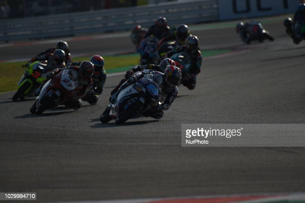 88 Spanish driver Jorge Martin of Team Del Conca Gresini driving during warm up in Misano World Circuit Marco Simoncelli in Misano Adriatico for San...