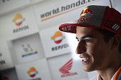 spanish driver marc marquez team repsol