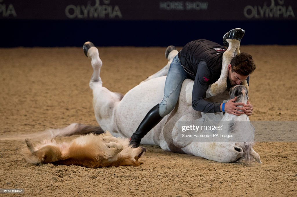 Olympia, The London International Horse Show - London : Nachrichtenfoto