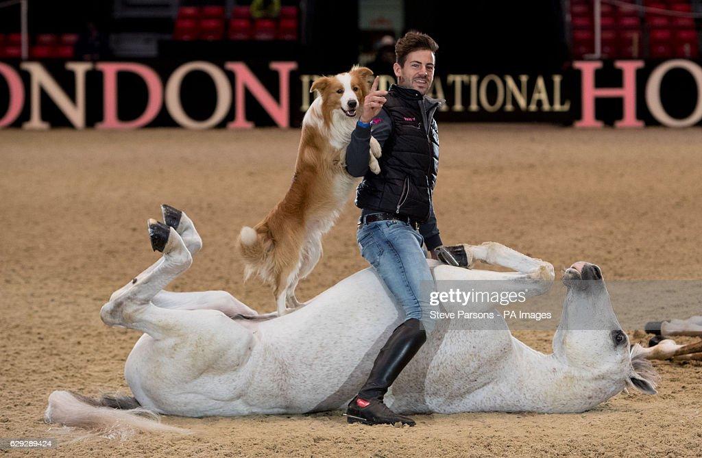 Olympia, The London International Horse Show - London : Nachrichtenfoto