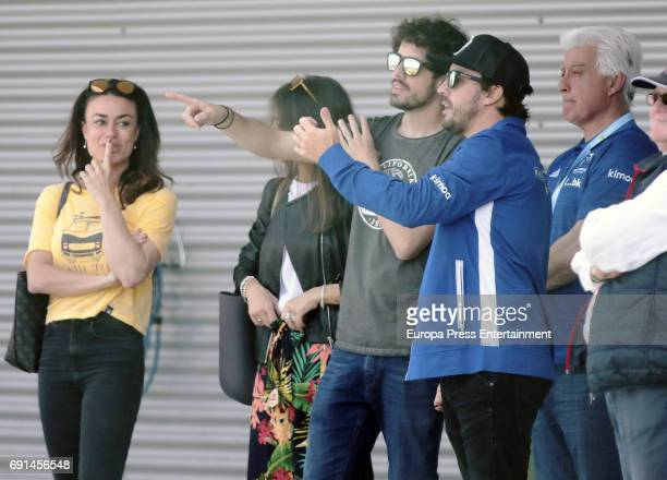 Spanish F1 driver Fernando Alonso's sister Lorena Alonso attends the Spanish Kart Racing at Fernando Alonso circuit on May 6 2017 in Asturias Spain